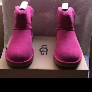 UGG PINK MINI BAILEY BLING